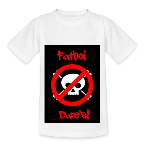 Fatboi Dares's logo - Kids' T-Shirt