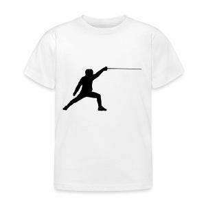 Fencer - Kinder T-Shirt