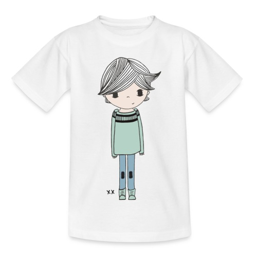 jongetje - Kinderen T-shirt