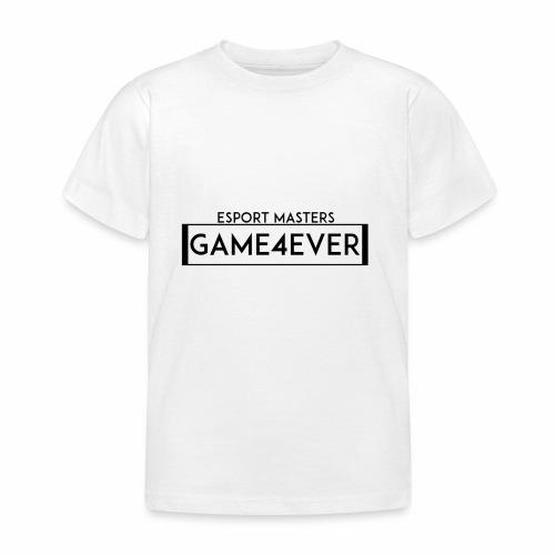 ESPORT MASTERS GAME4EVER - Kinder T-Shirt