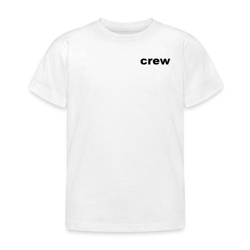 crew kleding - Kinderen T-shirt