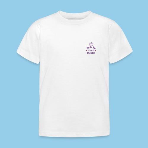 today princesin - Kids' T-Shirt