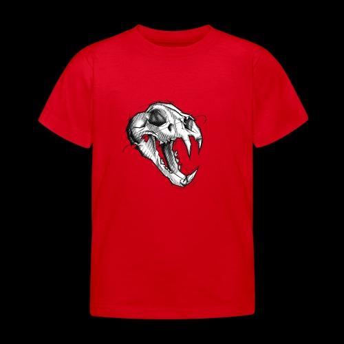 Teschio Tigre - Maglietta per bambini