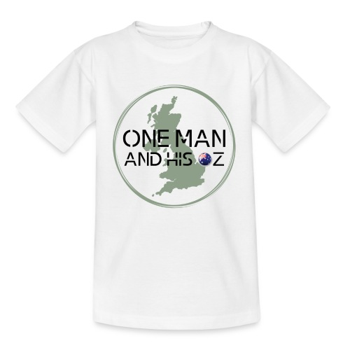 One Man and his Oz Logo - Kids' T-Shirt