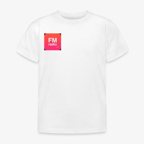 logo radiofm93 - Kinderen T-shirt