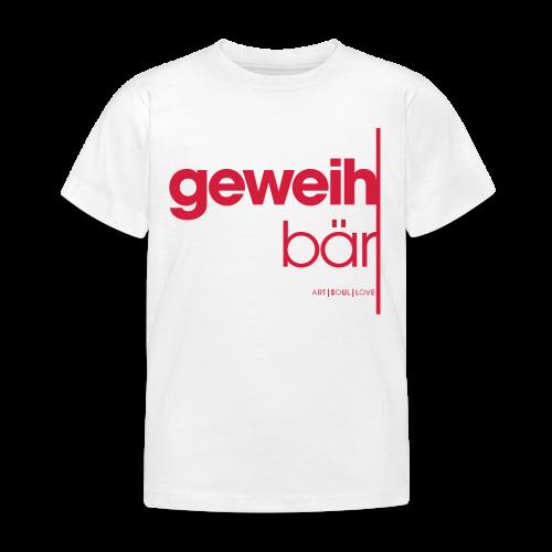 geweihbär 2019 - Kinder T-Shirt