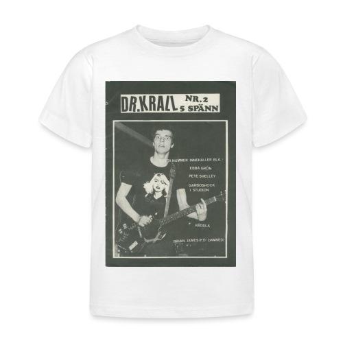 Svart Dr Krall - T-shirt barn