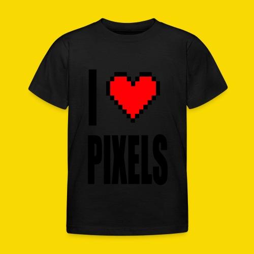 I Love Pixels - Koszulka dziecięca