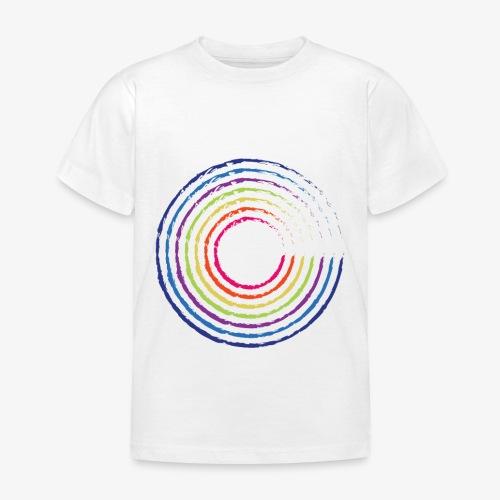 Circle rainbow - Maglietta per bambini