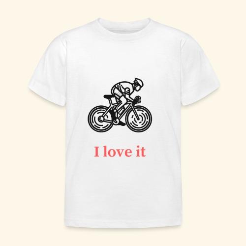 I love my bicycle - Koszulka dziecięca