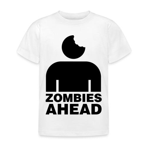 Zombies Ahead - T-shirt barn