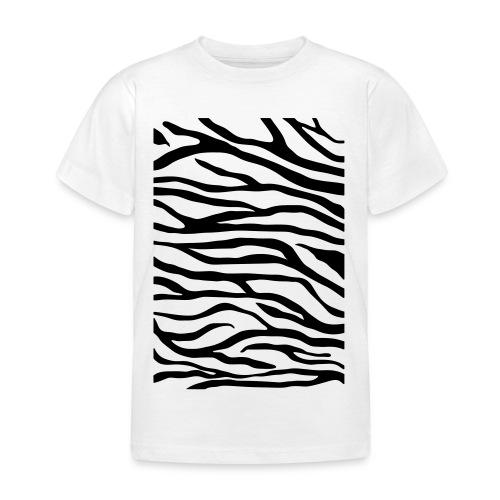 zebra v6 - Kinderen T-shirt