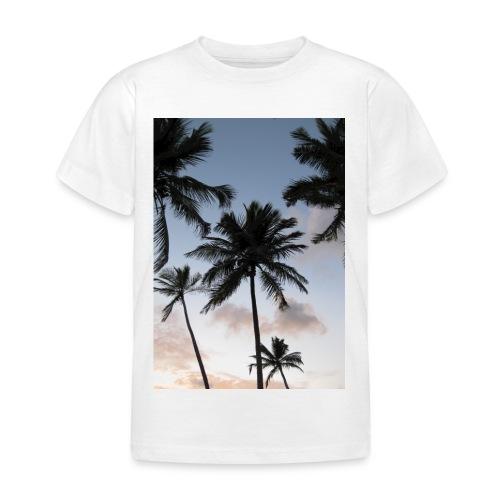 PALMTREES DOMINICAN REP. - Kinderen T-shirt