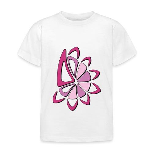 spicchi di sole multicolore rosa - Maglietta per bambini