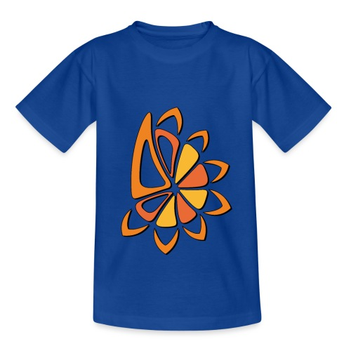 spicchi di sole caldo multicolore - Maglietta per bambini