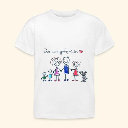 DenUmageFamilie - Børne-T-shirt