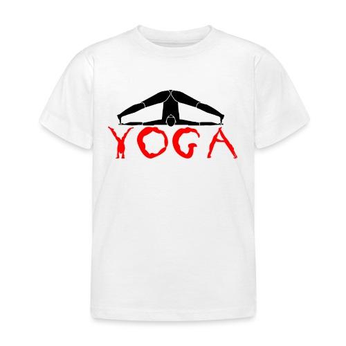 yoga yogi nero pace amore namaste sport art - Maglietta per bambini