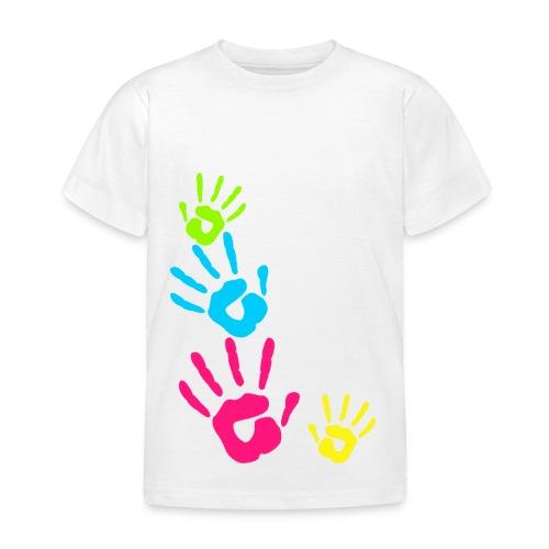 MANOS PINTADAS NIÑOS - Camiseta niño