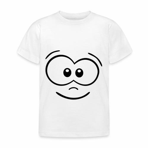 Gesicht fröhlich - Kinder T-Shirt
