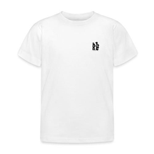 4 Women Isolated Black - Børne-T-shirt