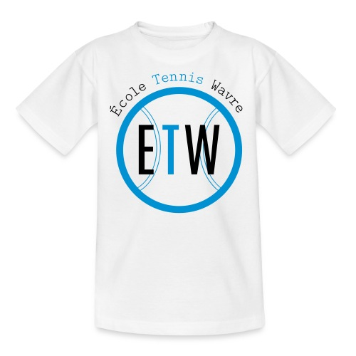 logo rond tennis vert - T-shirt Enfant