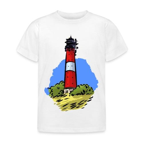Leuchtturm Hörnum Sylt - Kinder T-Shirt