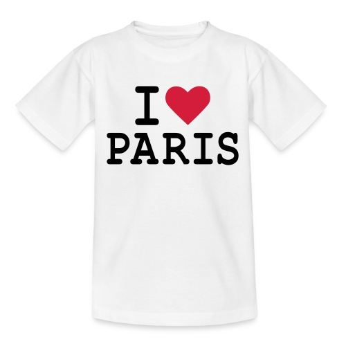 I Love Paris 1 - T-shirt Enfant