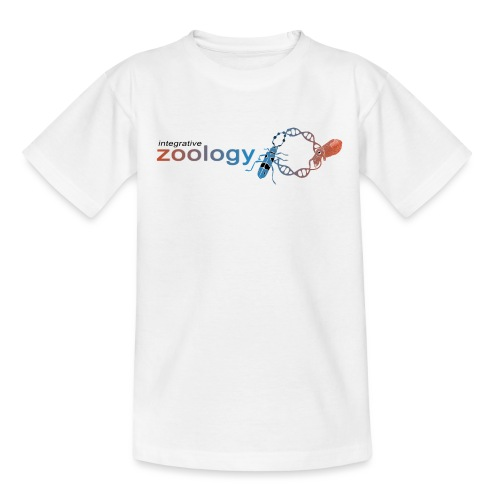 Integrative Zoology Department Logo (bright) - Kids' T-Shirt