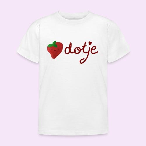 Baby aardbei Dotje - cute - Kinderen T-shirt