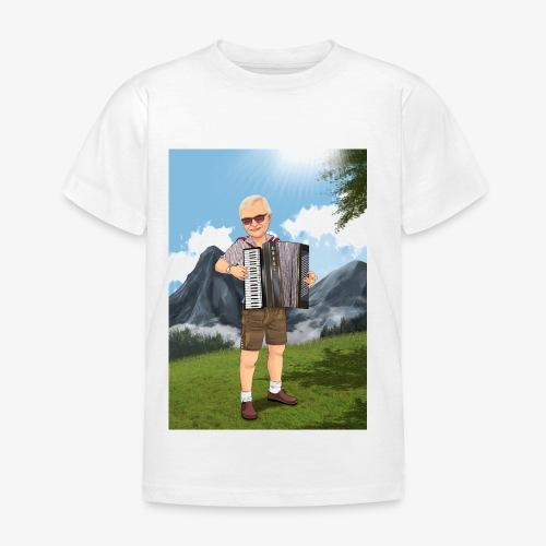 Bauer Adi mit Harmonie - Kinder T-Shirt
