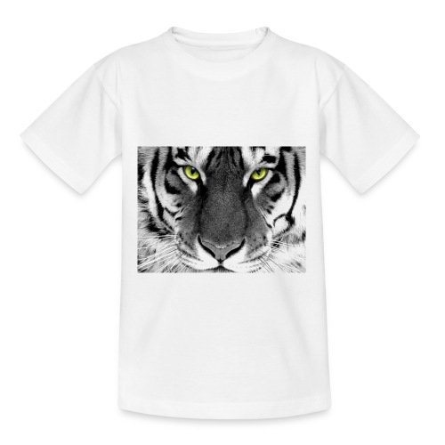 White Tiger jpg - Kinderen T-shirt