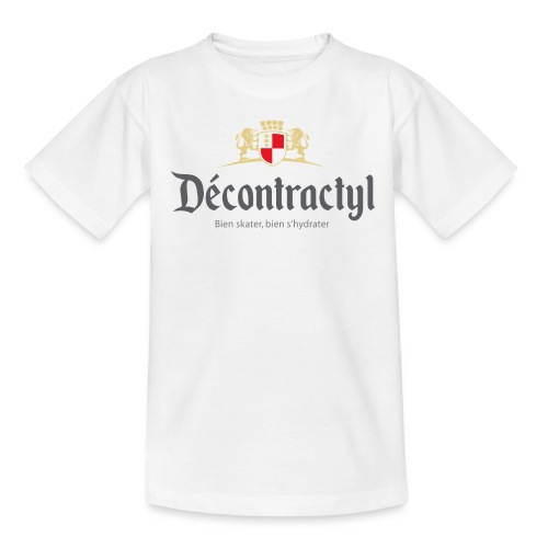 skateboard decontractyl - T-shirt Enfant