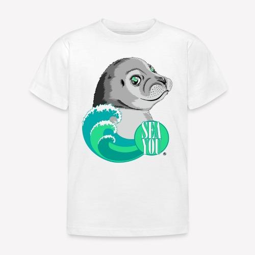 Sea You - Blue Waves - Kinder T-Shirt