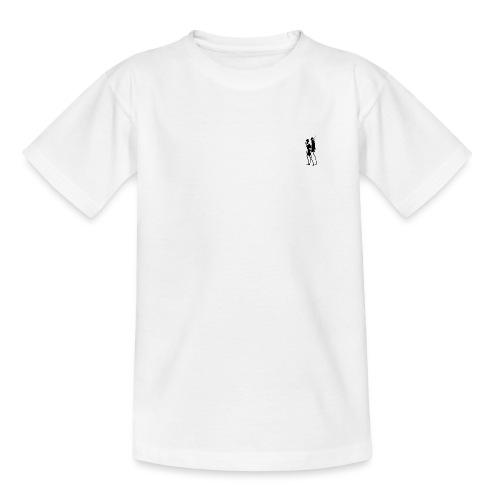 Two People Walking - Børne-T-shirt