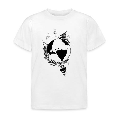 Discover the world - Børne-T-shirt