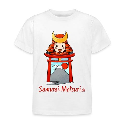 Samurai Matsuri Torii - Kinder T-Shirt