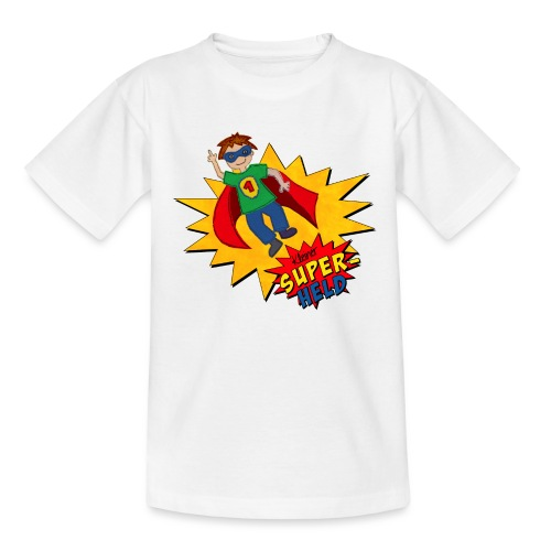 kleiner Superheld - Kinder T-Shirt