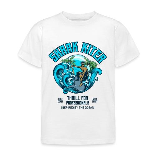 Shark Kitesurfer for professionals - Kinder T-Shirt