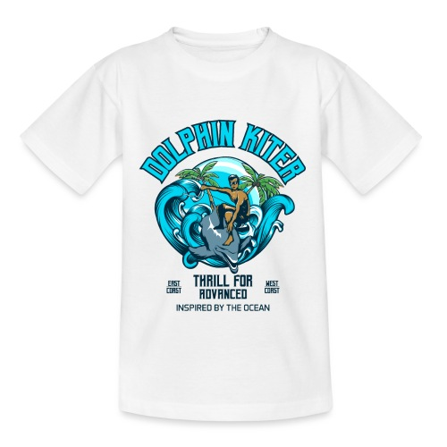 Dolphin Kitesurfer for advanced - Kinder T-Shirt