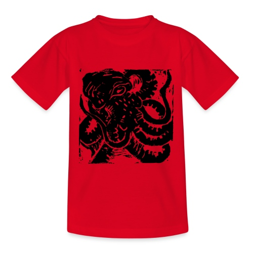 Museum Collection Octopus - Kids' T-Shirt