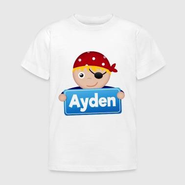 Little Pirate Ayden - T-shirt barn