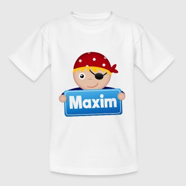 Lite pirat Maxim - T-shirt barn