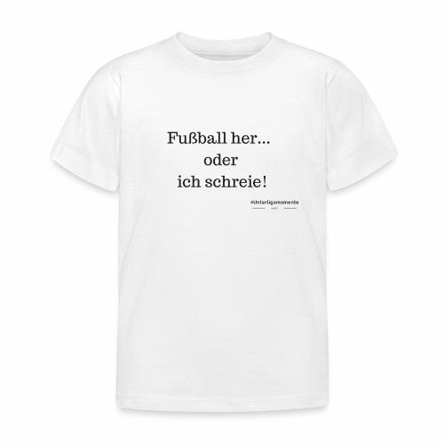 #Unterligamomente - Kinder T-Shirt