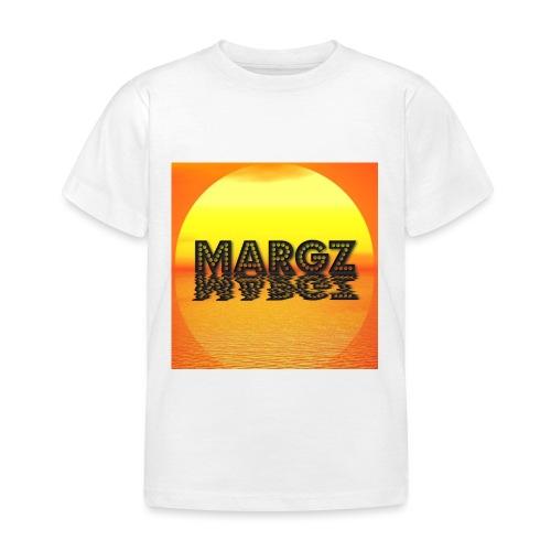 Sunset over Margz - Kids' T-Shirt