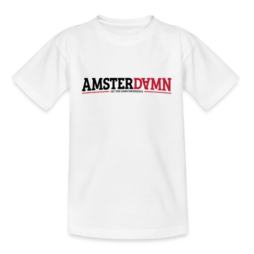 AMSTERDAMN 01 png - Kinderen T-shirt