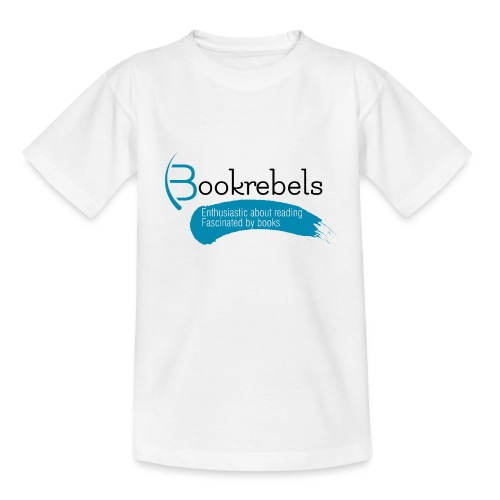 Bookrebels Enthusiastic - Black - Kids' T-Shirt
