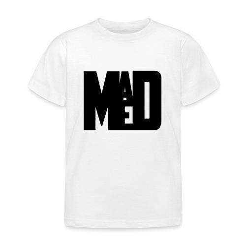 Maddem logo (Black) - Kids' T-Shirt