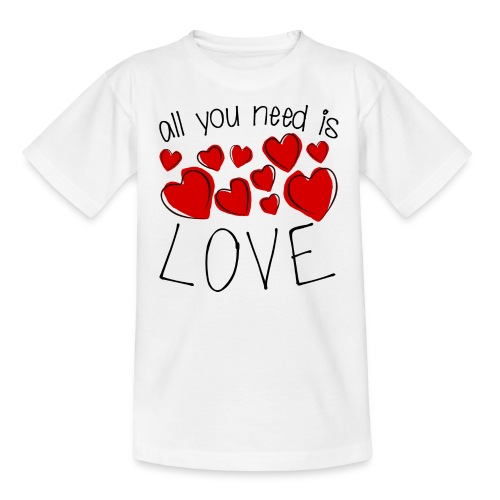 All you need is love - Kinder T-Shirt