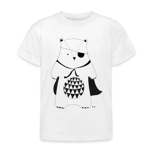 stoere beer - Kinderen T-shirt
