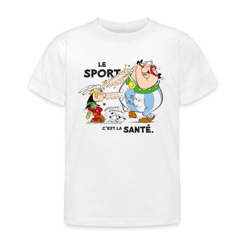 Astérix et Obélix - Le sport c'est la santé - T-shirt Enfant
